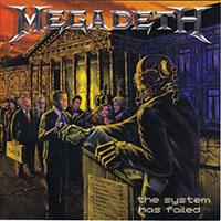 Megadeth- The System Has Failed LP (180gram Vinyl)