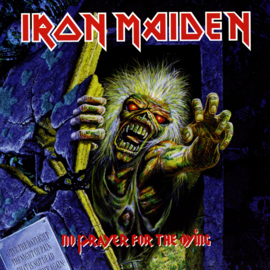Iron Maiden- No Prayer For The Dying LP (180gram Vinyl)
