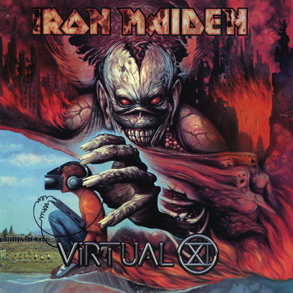 Iron Maiden- Virtual XI 2xLP (180gram Vinyl)