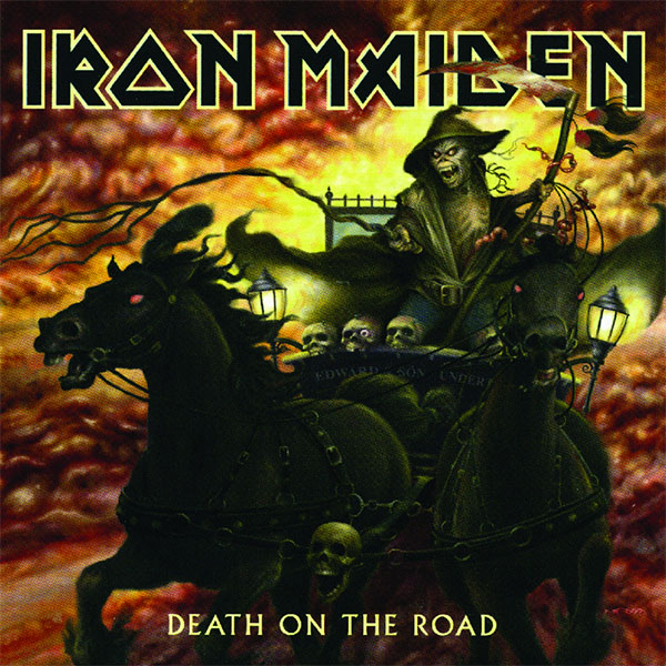 Iron Maiden- Death On The Road 2xLP (180gram Vinyl)