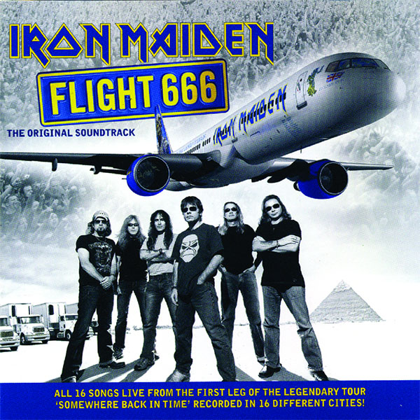 Iron Maiden- Flight 666 2xLP (180gram Vinyl)