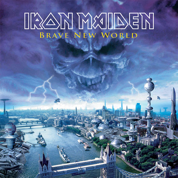 Iron Maiden- Brave New World 2xLP (180gram Vinyl)