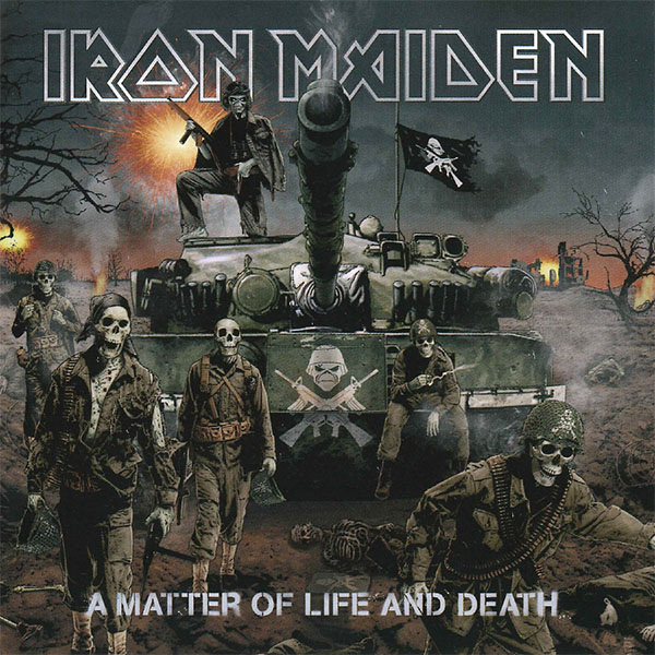 Iron Maiden- A Matter Of Life And Death 2xLP (180gram Vinyl)
