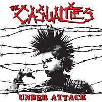 Casualties- Under Attack LP (Color Vinyl)