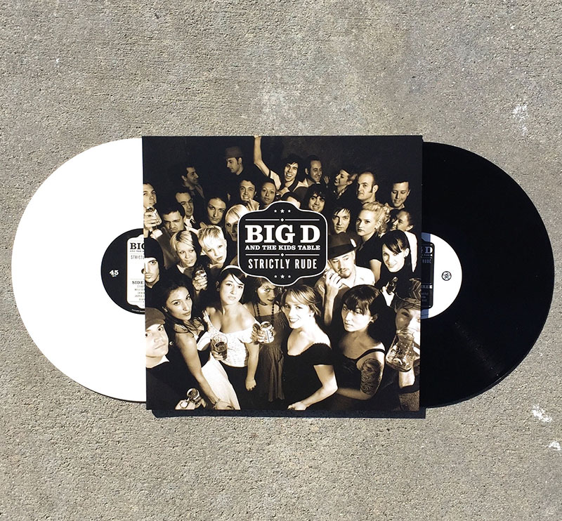 Big D And The Kids Table- Strictly Rude 2xLP (Color Vinyl)