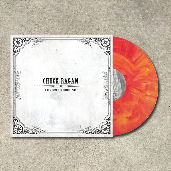 Chuck Ragan- Covering Ground LP (Color Vinyl)