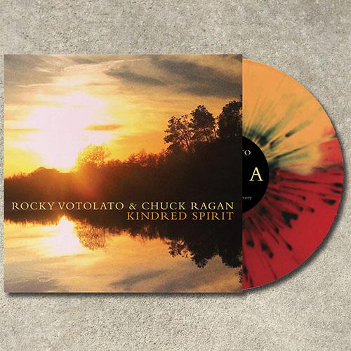 "Rocky Votolato / Chuck Ragan- Kindred Spirit 10"" (Color Vinyl) (Sale price!)"