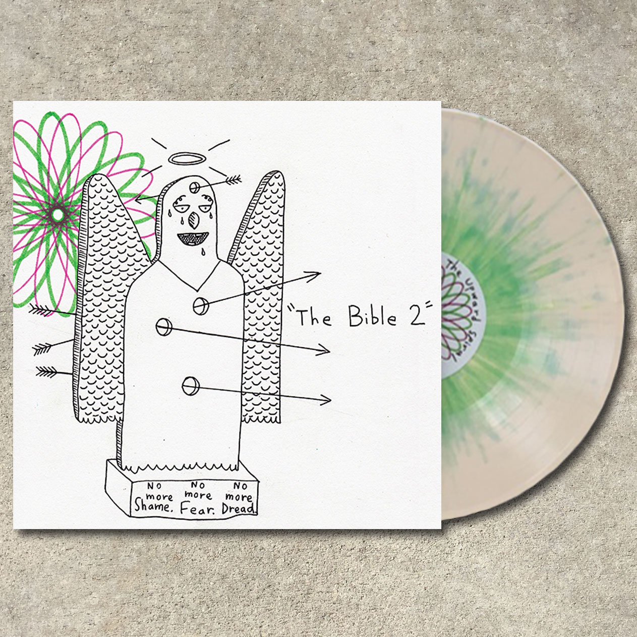 AJJ- The Bible 2 LP (Andrew Jackson Jihad)