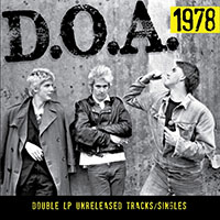 DOA- 1978 2xLP