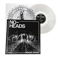 No-Heads- Pressure Cracks LP (Color Vinyl)
