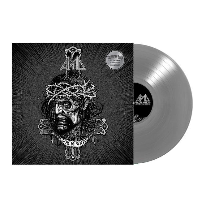 All Pigs Must Die- God Is War LP (Silver Vinyl)