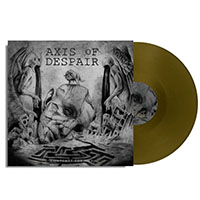Axis Of Despair- Contempt For Man LP (Gold Vinyl)