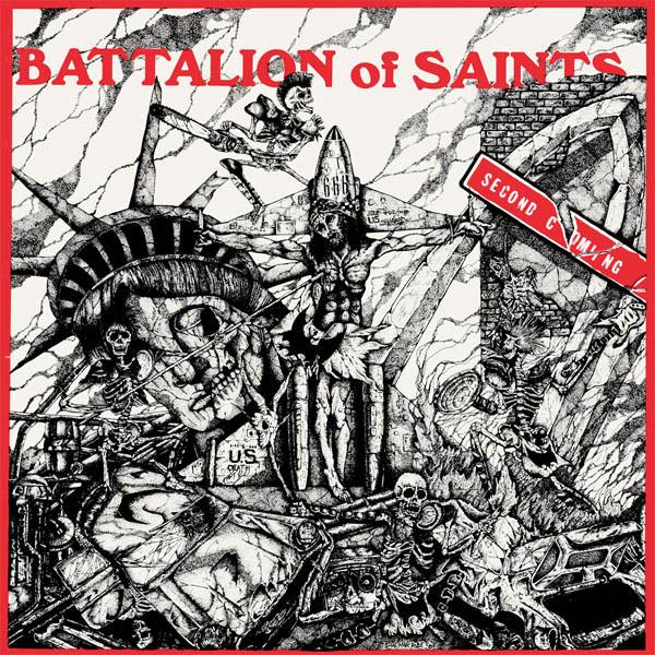 Battalion Of Saints- Second Coming LP