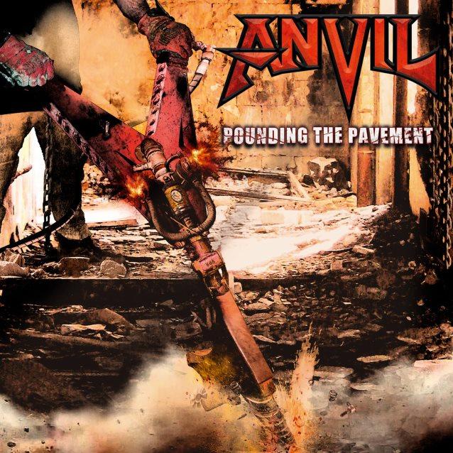 Anvil- Pounding The Pavement 2xLP