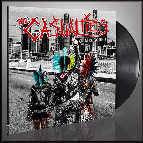 Casualties- Chaos Sound LP