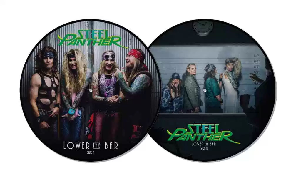 Steel Panther- Lower The Bar LP (Picture Disc) (Black Friday Record Store Day 2017 Release)