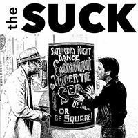 "Suck- S/T 7"" (White Vinyl)"