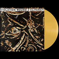 Violation Wound / Cliterati- Split LP (Color Vinyl)