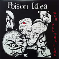 Poison Idea- War All The Time LP (Red Vinyl)