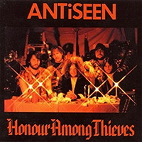 Antiseen- Honour Among Thieves LP (Orange Vinyl, comes with poster)