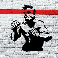 CH3- Channel 3 Put 'Em Up LP (Red Vinyl, Comes With Stencil)