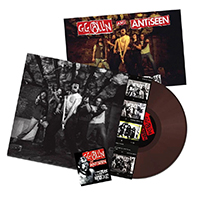 GG Allin And Antiseen- Murder Junkies LP (Brown Vinyl, Comes With Poster)