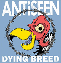 """Antiseen- The Dying Breed 12"""" (Blue Vinyl)"""