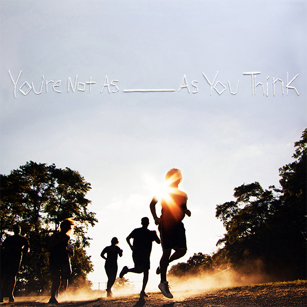 Sorority Noise- You're Not As _ As You Think LP (Mixed Color Vinyl)