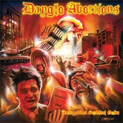 Dayglo Abortions- Armageddon Survival Guide LP (Orange Vinyl) (Gatefold, Comes With Poster) (Import)