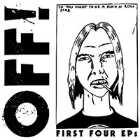 """OFF!- First Four EPs 4x7"""" Box Set"""
