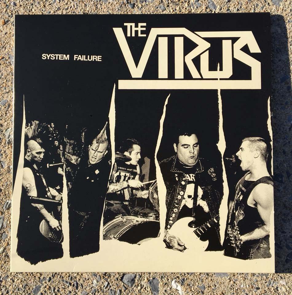 Virus- System Failure LP (CAMO VINYL) - comes with a poster