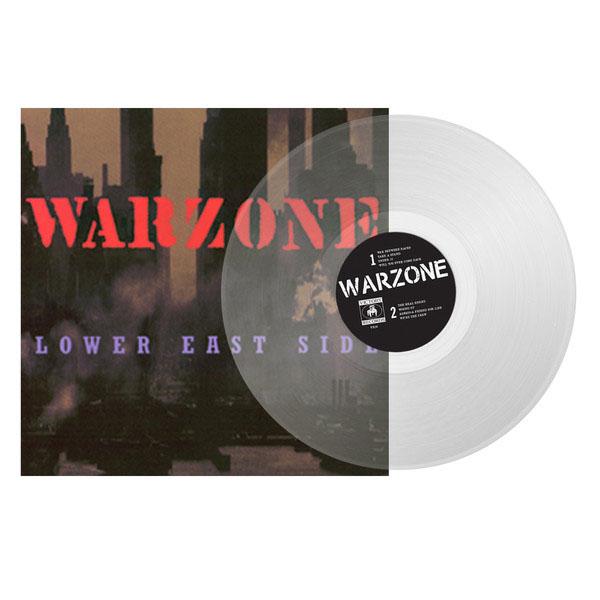 Warzone- Lower East Side LP (Clear Vinyl)