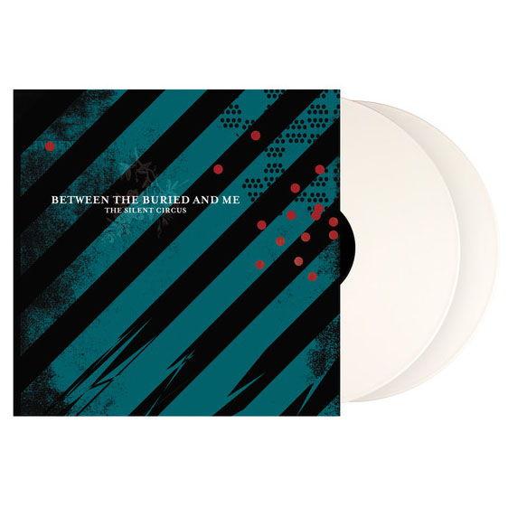 Between The Buried And Me- The Silent Circus 2xLP (White Vinyl)