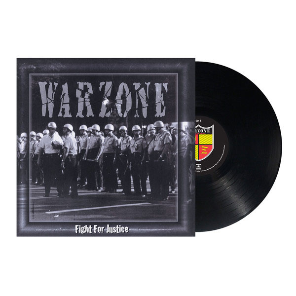Warzone- Fight For Justice LP