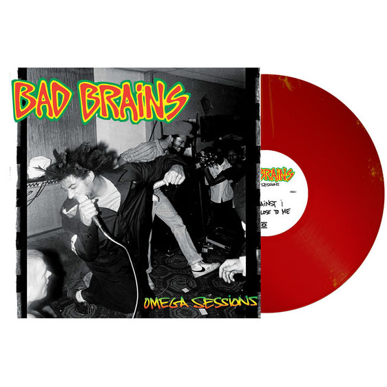"""Bad Brains- The Omega Sessions 12"""" (Red Vinyl!)"""