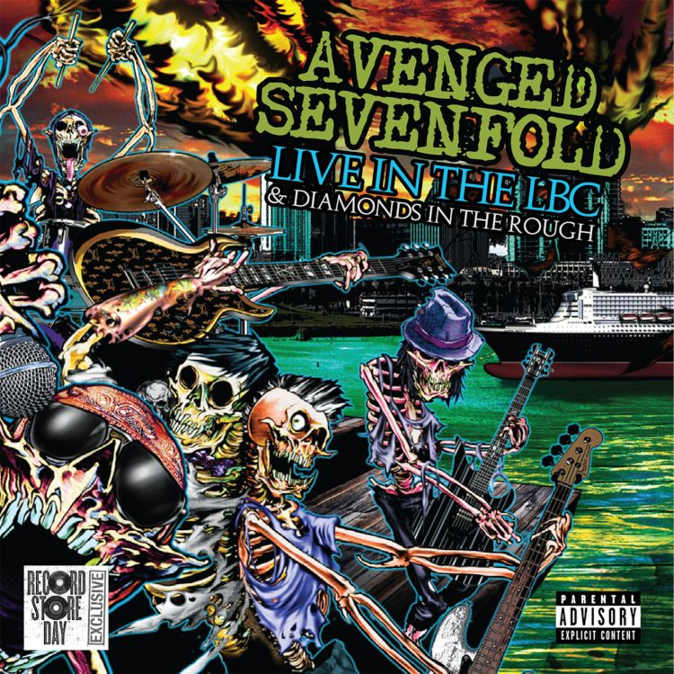 Avenged Sevenfold- Live In The LBC & Diamonds In The Rough 2xLP & DVD