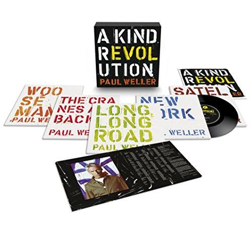 "Paul Weller- A Kind Revolution 5x10"" Box Set (Sale price!)"