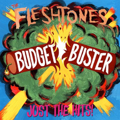Fleshtones- Budget Buster LP (Red/Orange Splatter Vinyl) (Black Friday Record Store Day 2017 Release)