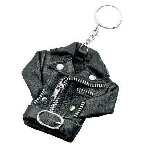 Leather Biker Jacket Keychain (Sale price!)