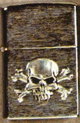 Skull & Crossbones lighter (Sale price!)