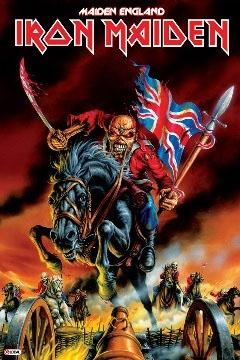 Iron Maiden- Maiden England Poster