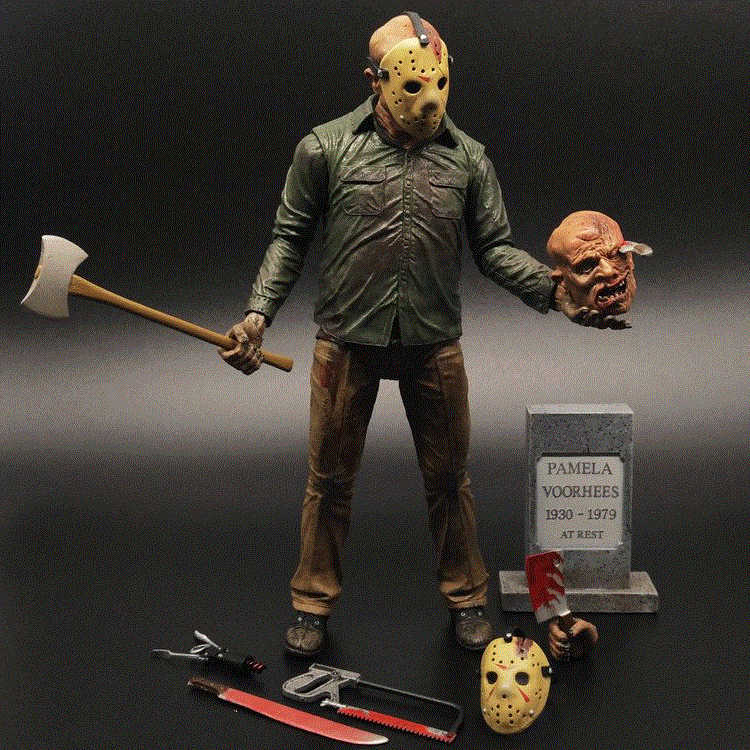 "Friday The 13th Part 4, The Final Chapter- Jason 7"" Action Figure"