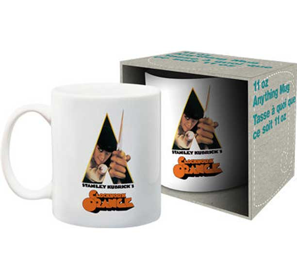 Clockwork Orange- Alex on a white coffee mug