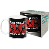 Elvis Presley- Jailhouse Rock coffee mug