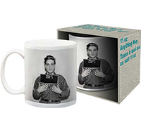 Elvis Presley- Enlistment Photo coffee mug