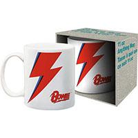 David Bowie- Bolt & Logo coffee mug