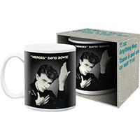 David Bowie- Heroes coffee mug