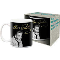 Elvis Presley-Pic And Signature coffee mug