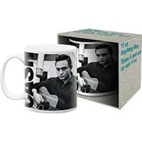 Johnny Cash- Recording coffee mug