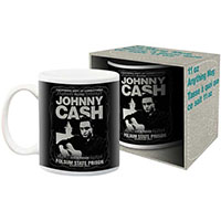 Johnny Cash- Live In Person coffee mug